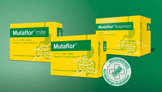 Mutaflor Produktsortiment